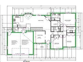 free sle floor plans draw house plans free easy free house drawing plan plan