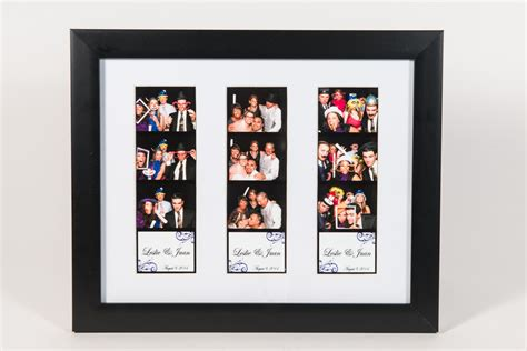 No Frames Picture 3 Piece Modern Cheap Home Decor Wall: Photo Booth Picture Frame For 3 Photo Booth Strips White