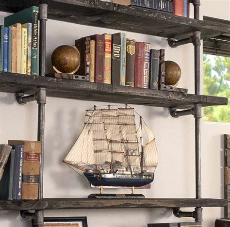 how to build a pipe l industrial pipe shelving diy cost diy design ideas