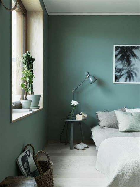 peinture verte chambre 1001 idées pour votre peinture murale originale