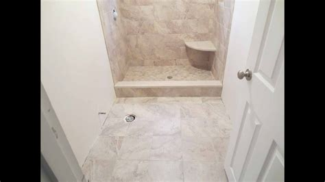 complete shower install studs  tile parts