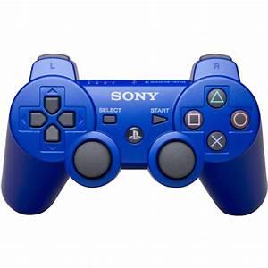 Dual Shock 3: PS3 Controller Blue Games Accessories | Zavvi