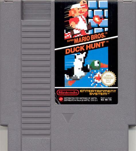 Super Mario Brothers Duck Hunt Nes Nintendo Game
