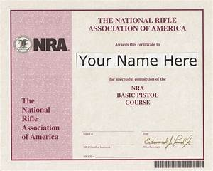 29 images of firearm safety certificate template printable for Nra certificate template