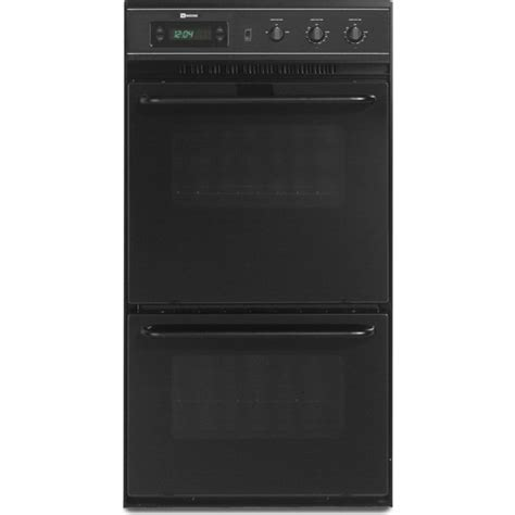 "Maytag CWE5100ACB 24"" Double Electric Wall Oven with 5.2"