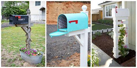 easy diy mailbox designs decorative mailbox ideas