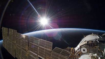 Station Space Iss International Wallpapers Sun Earth