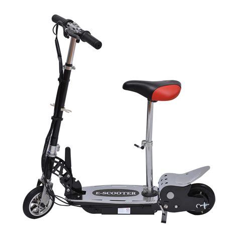 trotinette electrique avec siege homcom trottinette patinette électrique pliable plus de 8