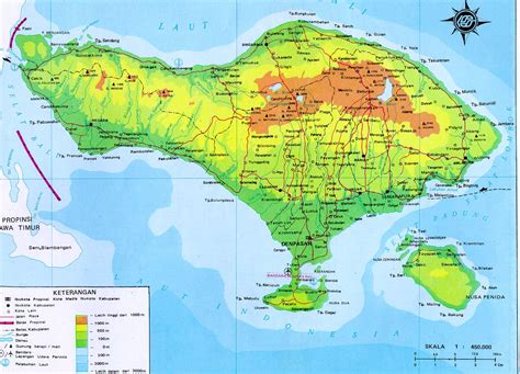 desnantana journey bali map