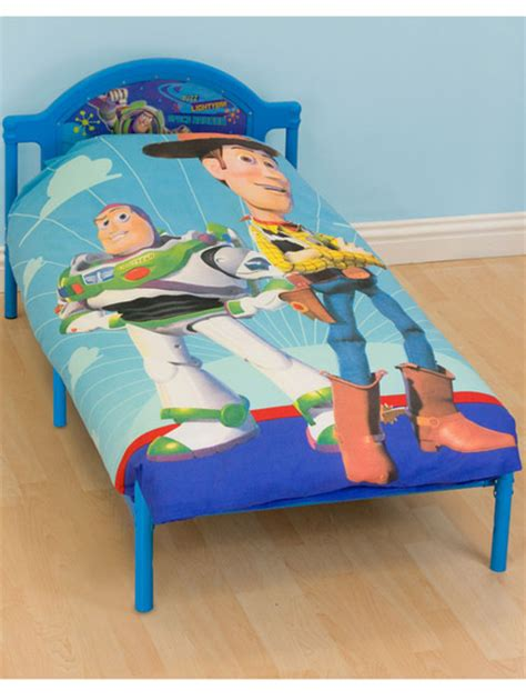 buzz lightyear story delta junior toddler bed bennetts direct ltd