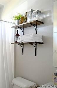 Easy, Bathroom, Shelves