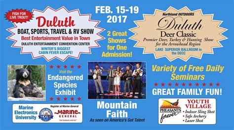 Minnesota Boat Show Tickets by Duluth Boat Sports Travel And Rv Show 2017 Perfect