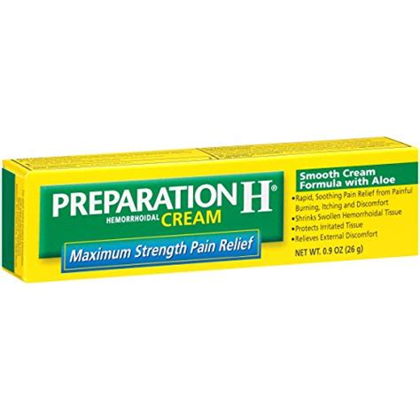 Amazon.com: Preparation H Hemorrhoid Symptom Treatment