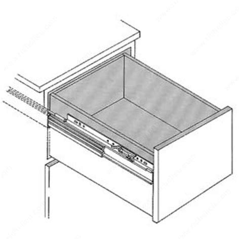 file cabinet drawer slides series 7232 full extension cabinet slide for file drawers