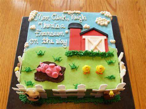 Farm Baby Shower Cakecentralcom