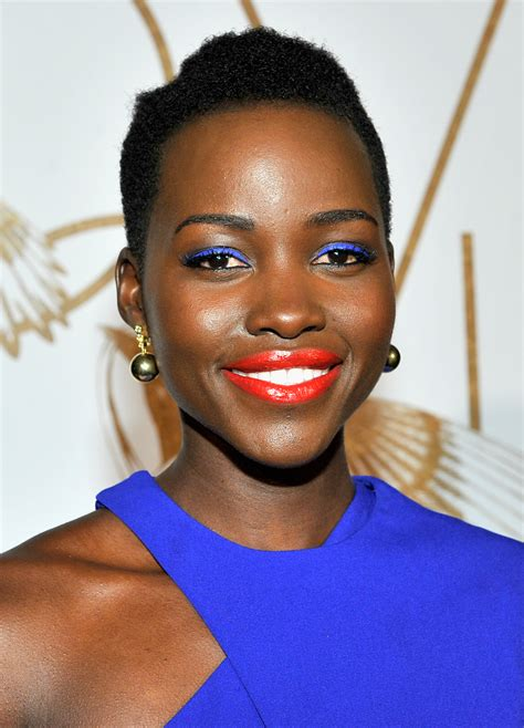 Lupita Nyong'o Makeup Artist Talks Signature Looks and ...