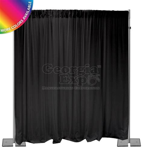 pipe and drape kits 12ft high pipe and drape backdrop kits light duty