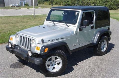 used jeep rubicon for sale sell used 2004 jeep wrangler rubicon for sale low miles