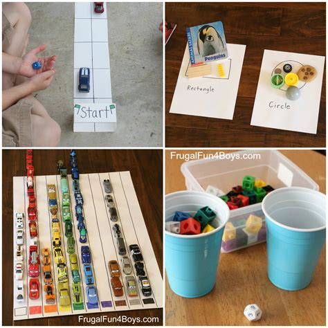 the best math and literacy learning activities for 784 | Preschool Math Collage