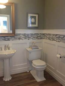 wainscoting ideas for bathrooms 17 best ideas about small bathroom decorating on