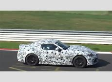 2019 Toyota Supra Spied Blitzing the Nurburgring, Could