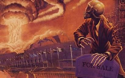 Megadeth Peace Background Sells Rust Dystopia Desktop