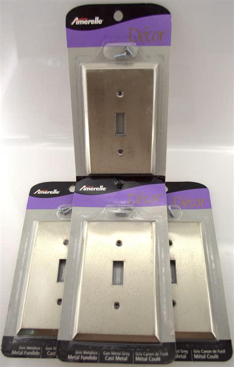 10pc lot light switch plate gun metal wholesale toggle