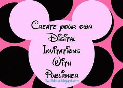 Minnie Mouse Invitations Invitation Birthday Party Digital