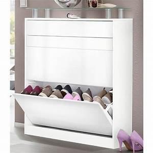 meuble a chaussures 2 compartiments 1 tiroir a poser With meuble pour entree de maison 3 gain de place meuble 2 en 1 pratique et multifonction