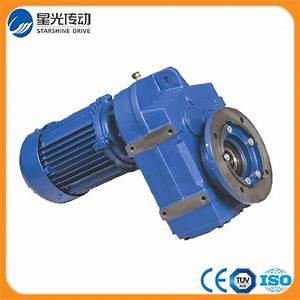 China Helical Gear Box For Ceramic Industry F Series