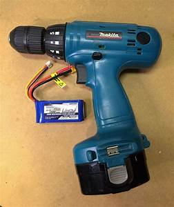 Convert Old Cordless Tools To Lithium Power  5 Steps  With