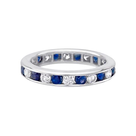 Channelset Sapphire Diamond Eternity Band  Betteridge. Moon Stone Engagement Rings. Bodycon Rings. Rolled Rings. Vintage Gold Engagement Rings. Bride Wedding Engagement Rings. 25 Year Wedding Rings. Filigree Engagement Rings. 19 Carat Engagement Rings