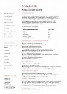 Sales assistant CV example, shop, store, resume, retail ...