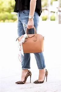 Flowing Into Fall Black Top + Boyfriend Jeans - Blame it on Mei   Miami Fashion Blogger Mei Jorge
