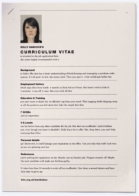 Resume Ex by Clever Resume Print Ads Highlight The Discrimination Faced