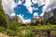 High Resolution Yosemite Valley