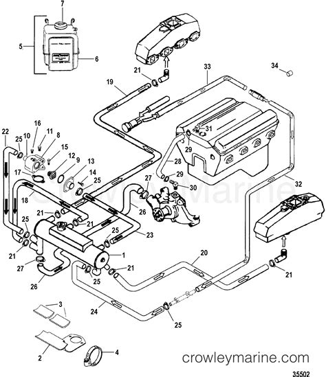 Mercruiser Thermostat Wiring Diagram by Closed Cooling System 1998 Mercruiser 5 0l Alpha Efi