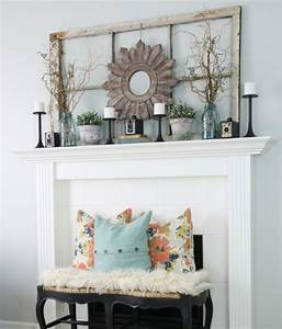 14 Stunning Farmhouse Style Mantel Ideas For Any Time Of