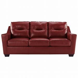 Signature design by ashley kensbridge leather match for Ashley sleeper sofa
