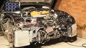 300zx Vg30dett Engine Upgrade Complete  U0026 Start