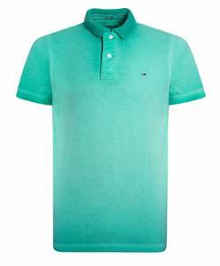 Tommy hilfiger Columbus Flag Polo Shirt in Green for Men ...
