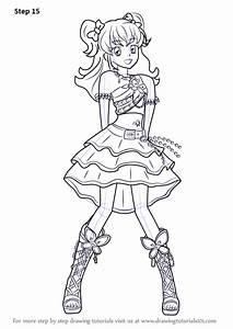 Learn How To Draw Hikari Minowa From Aikatsu   Aikatsu