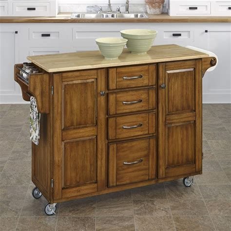 kitchen island shop shop home styles 52 5 in l x 18 in w x 35 75 in h cottage