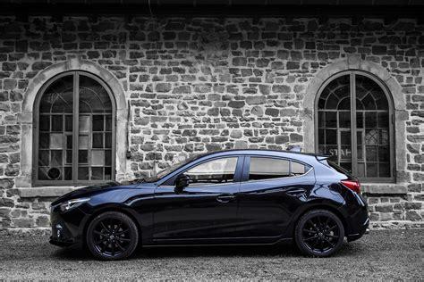 Mazda 3 Hatchback Wallpaper by 2015 Mazda3 Black Limited B M Mazda Wallpaper 4096x2731