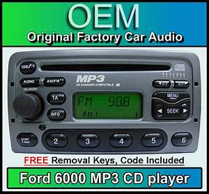 Ford Focus Cd Mp3 Player  Ford 6000 Mp3 Car Stereo   Radio