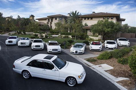 All White Cars by Floyd Mayweather S All White Car Collection Por Homme