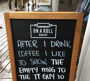 12 funny chalkboard signs outside coffee shops, pubs and