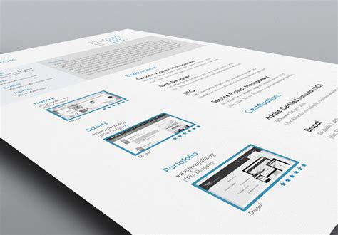 5 cv resume indesign templates stockindesign