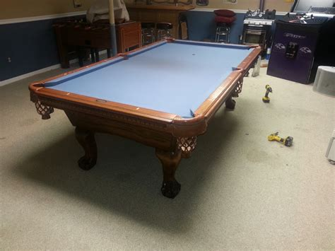 refelt pool table pool table disassembly and reassembly experienced
