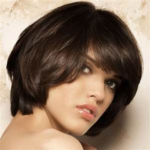 Coupe Mi Courte Femme : coupe de cheveux visage long ~ Nature-et-papiers.com Idées de Décoration